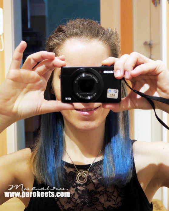 Crazy Color - Capri Blue Hair Dye