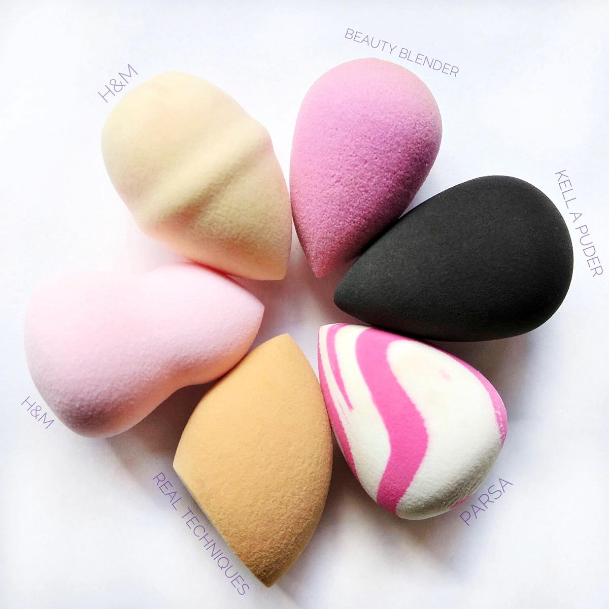 TOP 5 Make-up-sponges