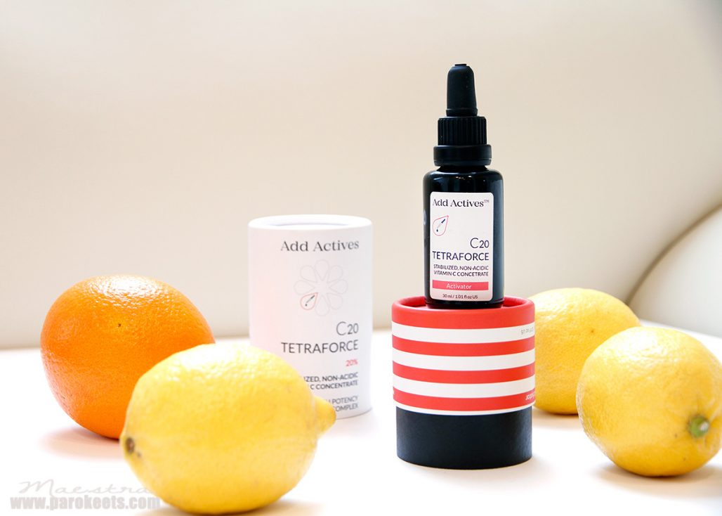 Add Actives - C20 Tetraforce c vitamin
