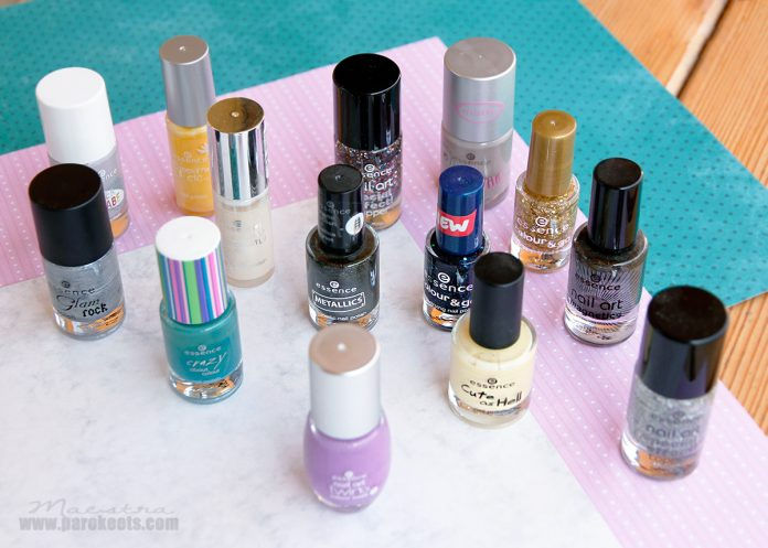 Retro Essence nail polishes 15 pinky years
