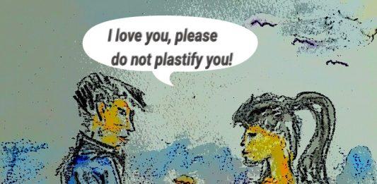Nevarnosti povecanja dojk - ilustracija I love you, please do not plastify you