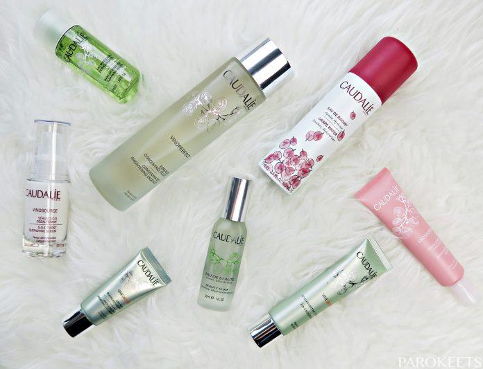Caudalie negovalna kozmetika top 3 by Gabi Gejba Parokeets