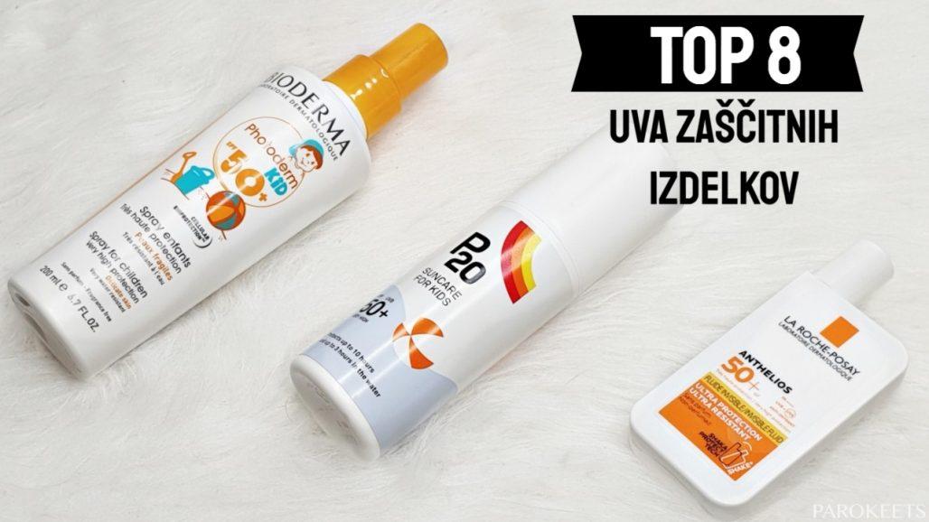 TOP 8 UVA krem za sončenje by Gabi Nedic Parokeets + seznam izdelkov z znano UVA zaščito
