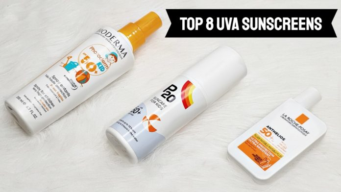 High UVA sunscreens