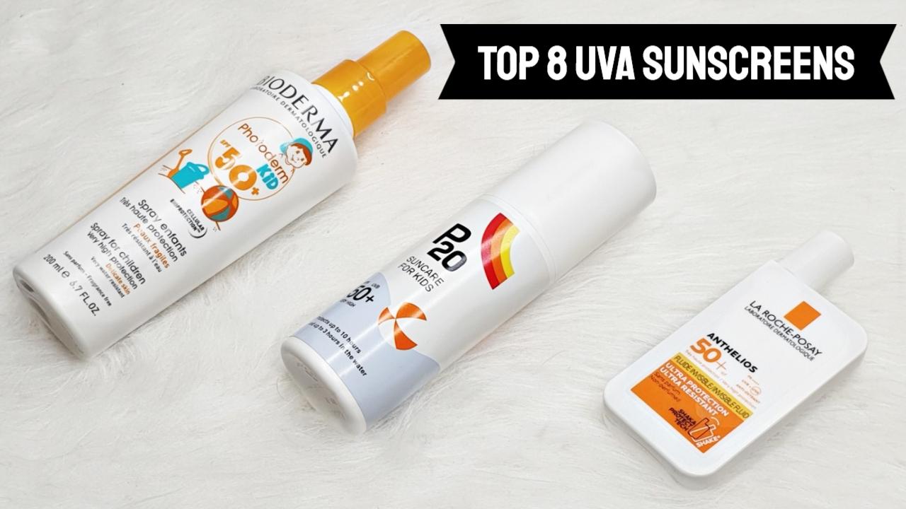 High UVA sunscreens